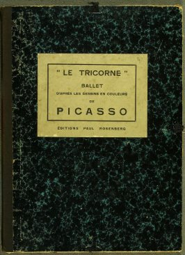 Le Tricorne (The Three-Cornered Hat) (Paris: Galerie Paul Rosenberg, 1920).