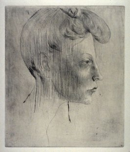 Tête de femme de profil (Head of a Woman in Profile), from La suite des saltimbanques (The Acrobats Set)