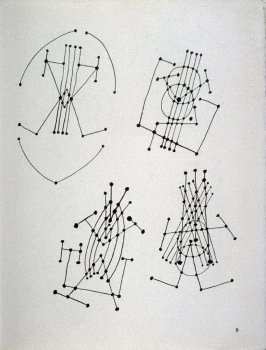 Plate B (Abstract studies of a guitar)