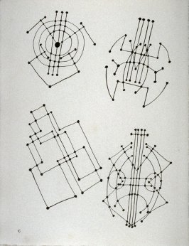 Plate C (Abstract studies of a guitar)