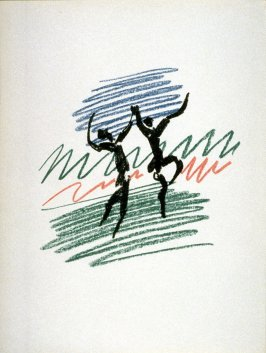 La danse (The dance), frontispiece for Picasso Lithographe/ III/1949-1956. Catalogue by Fernand Mourlot. (Monte-Carlo:André Sauret Éditions du Livre, 1956)