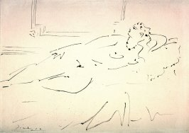 Reclining Female Nude (Sara Murphy?)