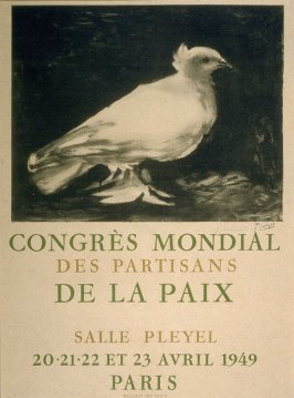 Poster for Congrès Mondiale des Partisans de la Paix (Worldwide Congress of Peace Advocates)