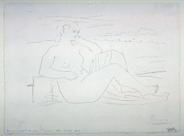 Femme au bord de la mer (Woman by the sea)
