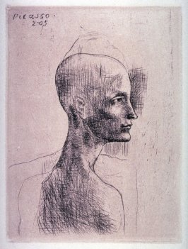 Buste d'homme (Bust of a man), from La suite des saltimbanques (The acrobats set)