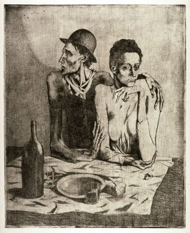 Le repas frugal (The Frugal Meal), from La suite des saltimbanques (The Acrobats)