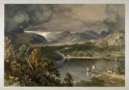 Windermere Waterhead, from J. P. Pyne's 'Lake Scenery of England' (London, 1859)