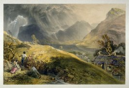 Buttermere (?), from J. P. Pyne's 'Lake Scenery of England' (London, 1859)
