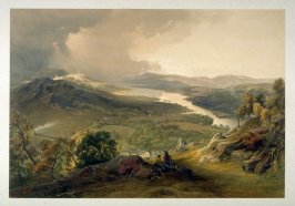 Windermere from Orrest Head, from J. B. Pyne's 'Lake Scenery of England' (London, 1859)