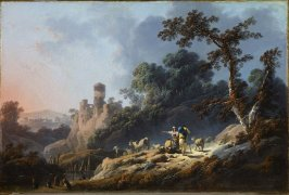 Landscape with Travelers and a Ruin