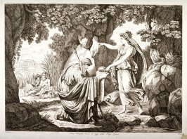 Numa Pompilio Receiving the Laws from the Nymph Egeria