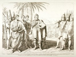 Cn. Popillio as Ambassador to Antiochus, King of Syria