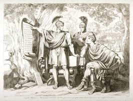 Lepidus, Octavius and Marc Antony on the Isle of Reno Proscribe the Principal Citizens of Rome