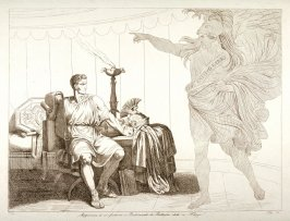 A Ghost Appearing to Brutus Before the Battle