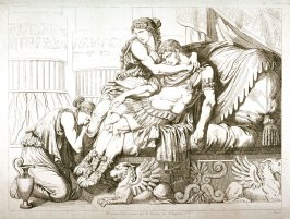 Marc Antony Dying in the Arms of Cleopatra