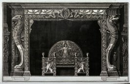 Chimneypiece, plate 33, from the series Diverse maniere d'adornare i cammini