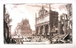 Veduta del Castello dell'Acqua Felice (View of The Fontana dell'Acqua Felice), from Vedute di Roma (Views of Rome)