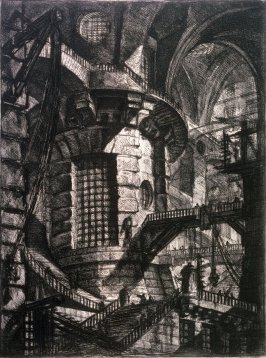 The Round Tower, plate III from the series Carceri d'invenzione (Imaginary Prisons)