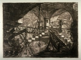 The Arch with the Shell Ornament, plate XI, from the series Carceri