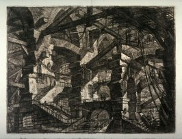The Gothic Arch, plate XIV, from the series Carceri