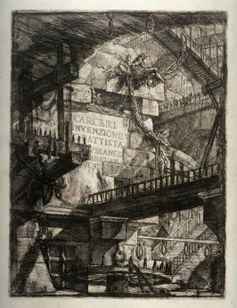Title Plate, from the Series Carceri