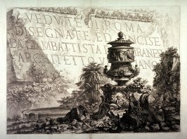 Title page from Vedute di Roma (Views of Rome)