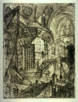The Round Tower, plate III, from the series Carceri d'invenzione (Imaginary Prisons)