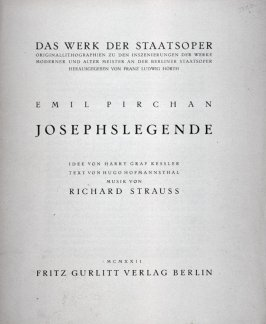 Title page and text:The Legend of St. Joseph