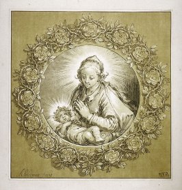 The Virgin and Child in a Rose Garland