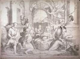 The Adoration of the Shepherds, after Il Schiavone (?)