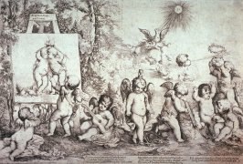 Allegory With Cupid and Putti