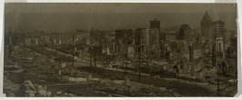Untitled (View of downtown San Francisco after the earthquake and fire)