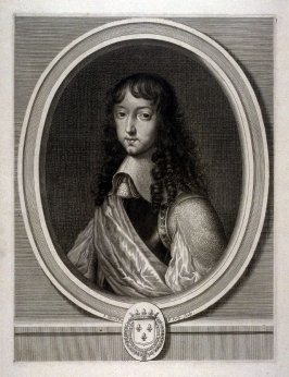 Louis XIV as a young man