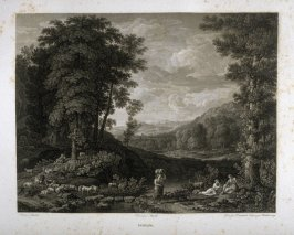 Paysage (Landscape)...sixtieth plate in the book... Le Musée royal (Paris: P. Didot, l'ainé, 1818), vol. 2