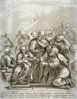 Adoration of the Magi, from the series 'Prints in Imitation of Drawings'
