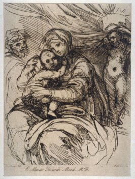 The Holy Family, from the series 'Prints in Imitation of Drawings'