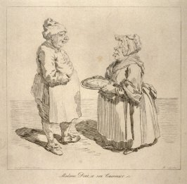 Madame Petit, et son Cuisinie, from the series 'Pond's Caricatures'