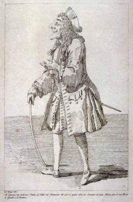 The Actor Carnacci, from the series 'Pond's Caricatures'