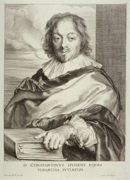 Constantijn Huygens, from The Iconography