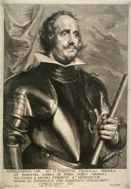 Emanuel Frockas, Count of Feria, from The Iconography