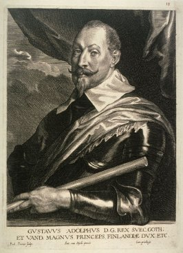 Gustavus Adolphus, King of Sweden, from The Iconography