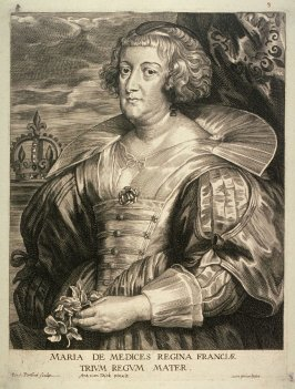 Marie de Medici, Queen of France, from The Iconography