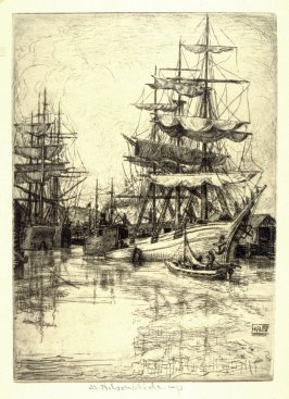 The Tall Ship from the Honolulu Series