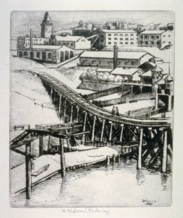 The Trestle and Ghiradelli's from the San Francisco Series
