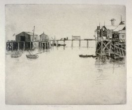 Monterey Wharf from the California Landscape Series