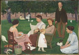 The Orchardist and His Family (Summer Afternoon)