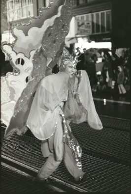 Lisa Jear in the Chinese New Year's Parade, San Francisco