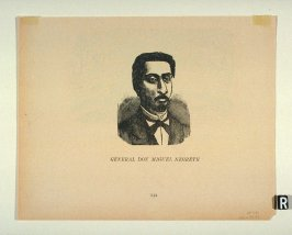 GENERAL DON MIGUEL NEGRETE as reprinted on p. 144 of the Monografia...