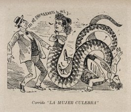 "Corrido ""LA MUJER CULEBRA"" (Ballad of the Snake Woman) as reprinted on p. 149 of the Monografia..."