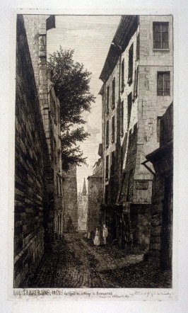 Rue Traversine..., from L'Ancien Paris